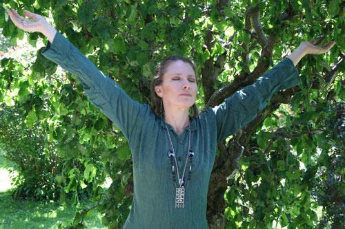 runedance meditation at the school of witchcraft
